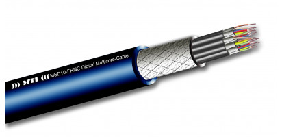 Digital Multicore, 10x 2x 0,14 mm², 110 Ohm, FRNC