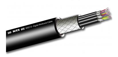 Digital Multicore, 12x 2x 0,14 mm², 110 Ohm, PUR