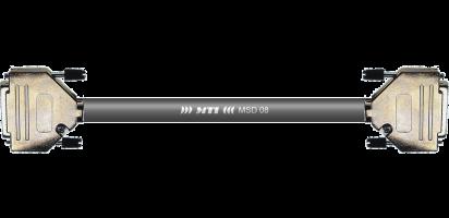 MTI Digital-Loom, 2x D-Sub-male 25p., YAM/TAS