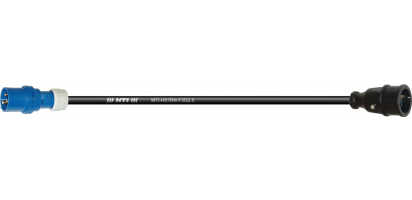 Lastverlängerung, CEE-3p. St. blau, 250 V/16 A, Schukobu.VG,3x 2,5 mm²