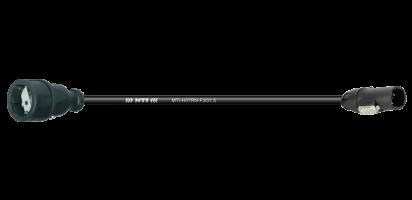 TITANEX Lastverlängerung, Schuko Kupplg. Gummi/True1-TOP Out, 3x 1,5 mm²