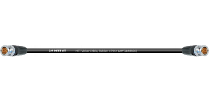 MTI Video-Cable, Belden 1694a (AWG18/RG6) 2x Neutrik BNC 75 Ohm, schwarz