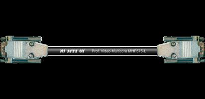 MTI RGBHV-Kabel, 2x 15 pol. HD-Sub-D male, EMV-Vollmetallhauben