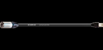 DMX/Ethernet, XLR-male 3p./ RJ 45
