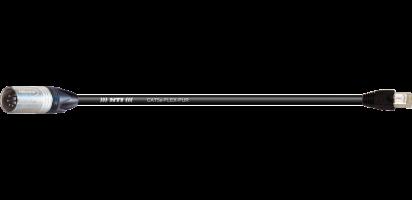 DMX/Ethernet, XLR-male 5p./ RJ 45