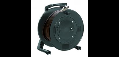 MTI CAT7 AWG26/7 Ethernet-Kabel, Metall RJ45, Trommel /Klapptür