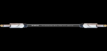 MTI Instr.-Cable TP7022, 2x Klinke 2pol., schwarz