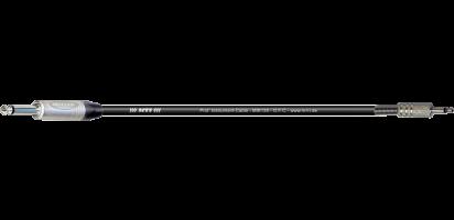 MTI Instr.-Cable, Neutrik Klinke 2pol./Miniklinke 2pol., schwarz