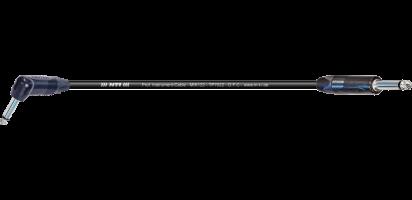 MTI Instr.-Cable TP7022, Winkel-Kl./Klinke 2pol., schwarz