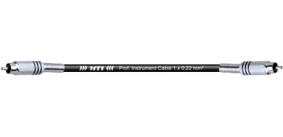 MTI Instr.-Cable TP7022, 2x RCA Cinch, schwarz