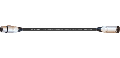 MTI Digital Micro-Cable, XLR-fem./male 3p.