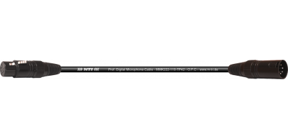 MTI Prof. DMX-Cable, XLR fem./male 5p.sw.