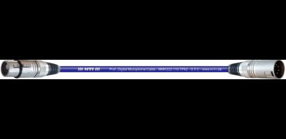 MTI Prof. DMX-Cable,  XLR-fem./male 5p.