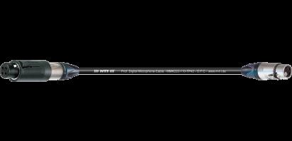 MTI Digital Micro-Cable, XLR-ConvertCon/fem. 3p.