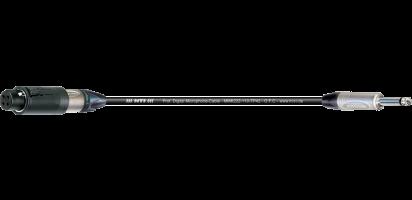 MTI Digital Micro-Cable, XLR-ConvertCon 3p./Klinke 2p.