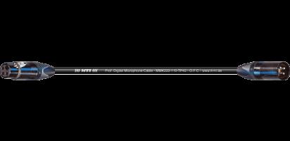 MTI Prof. DMX-Cable, Neutrik XLR-fem./male 3p.sw.