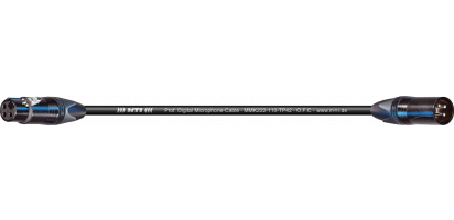 MTI Digital Micro-Cable, Neutrik XLR-fem./male 3p.sw.