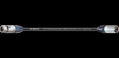 MTI Digital Micro-Cable, XLR-fem./male 3p., PUR