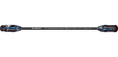 MTI Prof. DMX-Cable, XLR-fem./male 5p. sw., BXX-6