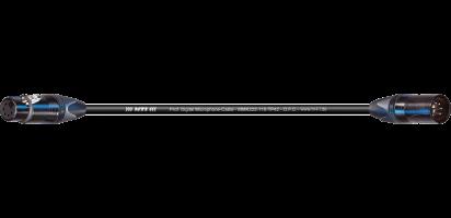 MTI Prof. DMX-Cable, XLR-fem./male 5p. schwarz