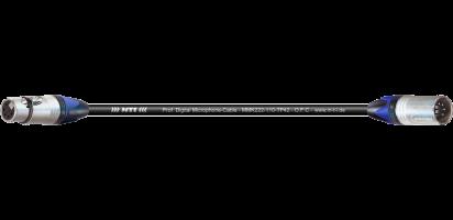 MTI Prof. DMX-Cable, XLR-fem./male 5p., BXX-6