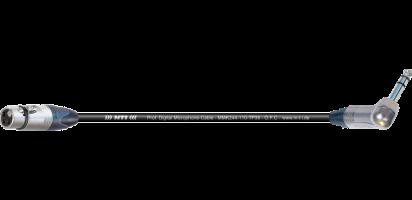 MTI Digital Micro-Cable TP13, XLR-fem./Winkel-Klinke 3p.