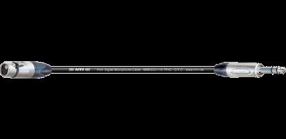 MTI Digital Micro-Cable,  XLR-fem./Klinke 3p.