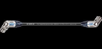 MTI Digital Micro-Cable TP13, Winkel-XLR-fem./Winkel-XLR-male 3p.