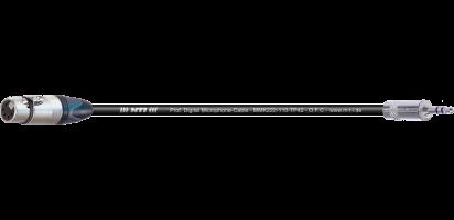 MTI Digital Micro-Cable, XLR-fem. 5p./Mini-Kl. 3p.