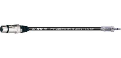 MTI Digital Micro-Cable, XLR-male 3p./Mini-Kl.3p.