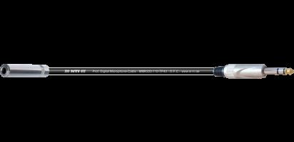 MTI Digital Micro-Cable, Kl.-Buchse/Klinke 3p.