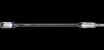 MTI Digital Micro-Cable TP13, XLR-male/Klinke 3p.