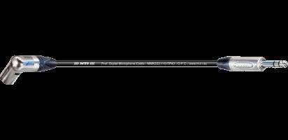 MTI Digital Micro-Cable, Winkel-XLR-male/Klinke 3p.