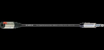 MTI Digital Micro-Cable, Kl.-Buchse/Klinke 2p.