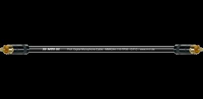 MTI Digital Cinch-Cable TP13, 2x REAN RCA Cinch sw., Goldkt.