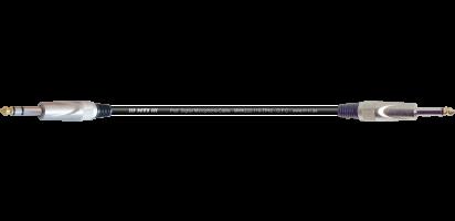 MTI Digital Micro-Cable, Klinke 3p./Klinke 2p., sw.