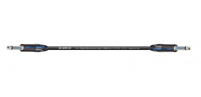 MTI Digital Micro-Cable, Neutrik Klinke 2p./Klinke 2p., schwarz