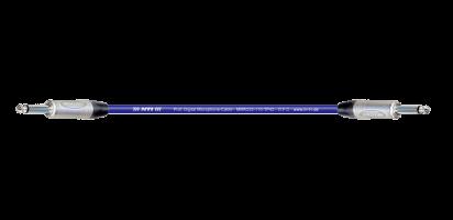 MTI Digital Micro-Cable, Klinke/Klinke 2p., blau
