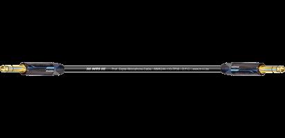 MTI Digital Micro-Cable TP13, Klinke/Klinke 3p., sw, gold