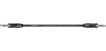MTI Digital Micro-Cable, Klinke/Klinke 3p. schwarz