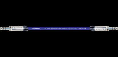 MTI Digital Micro-Cable, Klinke/Klinke 3p., blau
