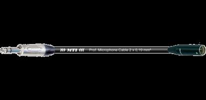 MTI Digital Micro-Cable, Klinke 3p./Mini-XLR-male 3p.