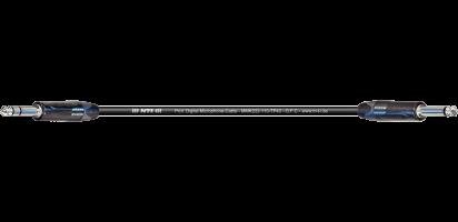 MTI Digital Micro-Cable, Neutrik Klinke 3p./Klinke 2p. schwarz