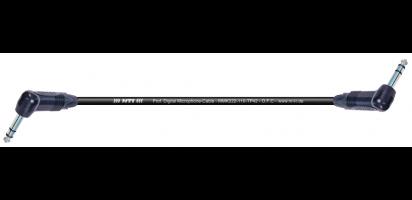 MTI Digital Micro-Cable, 2x Winkel-Klinke 3p. schwarz