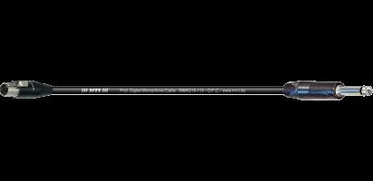 MTI Digital Micro-Cable, Mini-XLR-fem. 4p./Klinke 2p. sw.