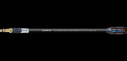 MTI Digital TT-Phone-Cable auf XLR-male, Goldkontakte, sw.