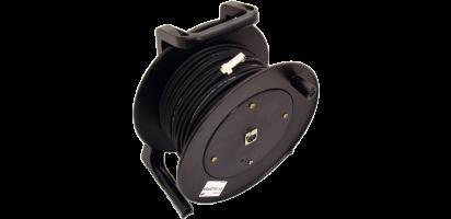 MTI Prof. DMX-Cable-Drum, Neutrik XLR-fem./male 5p.