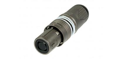 Neutrik opticalCON QUAD loop connector, Multimode