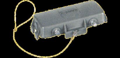 Abdeckkappe, 16B, ohne 2 Kl., Metall