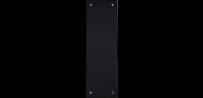 Abdeckplatte für Stageboxen / 24/64/108 pol. sw.